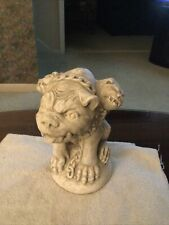 Figurine, Large Gargoyle, Three Heads, 9.5�Hx 6�W X 6�L, Unusual
