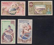 Laos  1958  Sc #48-51  MNH  (1-310)