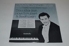 David Bar-Illan plays Schubert & Beethoven~Baldwin OM-LP-DBI~FAST SHIPPING
