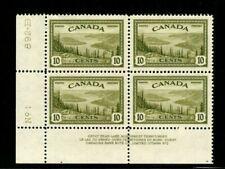ES-13528 CANADA UNIITRADE 269 GREAT BEAR LAKE NWT PLATE BLOCK #2 MNH $10 xf-s