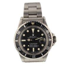 Rolex Submariner Steel Automatic Black Watch 1680 Circa 1978