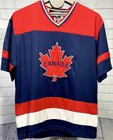 SNOWCAP Canada 🇨🇦 Maple Leaf Mens Hockey Jersey Shirt XXL RUNS SMALL Mint POC