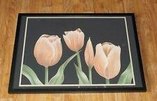 TULIPANI Incorniciato Wall Art -50 x70cm, K D parchi stampa, firmato SERIGRAFICA Tulip stampa