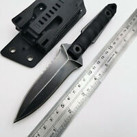 Hot Sale Tactical Straight Knife D2 + Stone wash Blade Steel G10 Handle EDC Tool