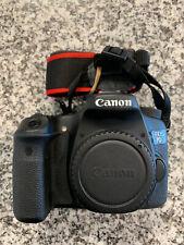Canon EOS 70D 20.2MP Digital SLR Camera - Black - 25,021 Shutter Count!