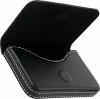 Leather Visiting Credit Card Holder Business Card ID Card Holder (Set of 1)