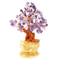 7'' Crystal Luck Yuan Bao Money Tree Feng Shui for Wealth &Luck Home Decor#3