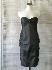 5d7a08afd836 Nanette Lepore Black Gathered Sweetheart Cocktail Dress Size 8