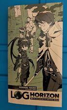 Log Horizon Light Novel (MMORPG Elder Tales) Loot Anime Exclusive DIMENSIONS