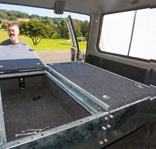 1.3 Metre Rear Drawer System Single Unit Off Road Universal Fit 4WD Heavy Duty