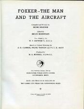 Fokker. The man and the aircraft, Henri Hegener. 1961 The Garden City Press LTD,