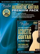 Fender Presents Getting Started on Acoustic Guitar Premium Pack - Guit 000696650