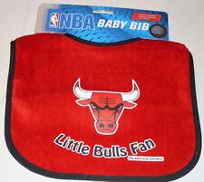 NBA NWT INFANT BABY BIB- RED - CHICAGO BULLS