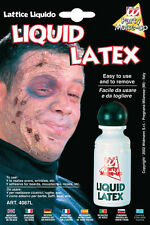 Latex Liquide 28 ml Maquillage Décoration Gore Horreur Halloween Déguisement LGW