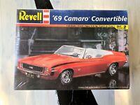 Revell 1:25 Scale '69 Camaro Convertible Vintage Model Kit - New