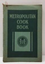 1918 Metropolitan Life Cook Book