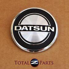 Datsun 240Z 260Z 280Z Round Hood Emblem Badge, 1970-78 *NOS, OEM*