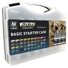 PREORDER Wizkids Premium Paint Set by Vallejo Basic Starter Case