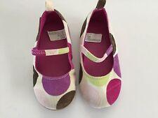 Gymboree Dots of Fun Corduroy Polka Dot Dress Shoes Size 7