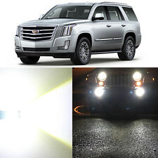 Alla Lighting Fog Light 9145 White LED Bulbs for 07~14 Cadillac Escalade ESV EXT