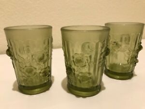 Antique French drinking glasses