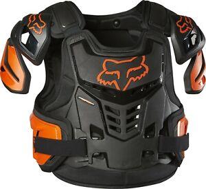 Fox Raptor Proframe Body Armour ACU CE Approved EN1621 Black Orange Adults