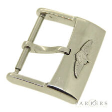 BREITLING NEW STYLE RAISED LOGO STAINLESS STEEL WATCH STRAP BUCKLE 20MM