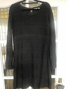 Beautful Fat Face Knitted Dress Size 16