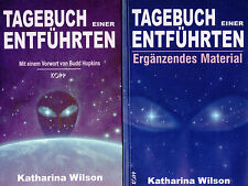 TAGEBUCH einer ENTFÜHRTEN - 2 x UFO Bücher mit Kathrina Wilson & Budd Hopkins