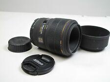 Sigma 105mm f2.8 D DG EX Macro Lens Nikon MINT