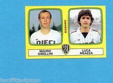 PANINI CALCIATORI 1985/86 -FIGURINA n.430- GIBELLINI+MEAZZA - CESENA -Rec