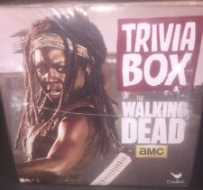 AMC Walking  Dead TRIVIA BOX 20 Cards 100's Of Questions 2 LEFT ! NEW