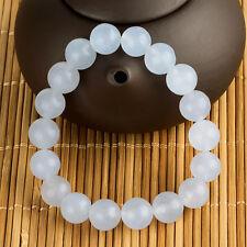 Brand New Fashion Unisex 10mm Round Natural Stone Beads Bracelet Gift