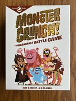 General Mills Monster Crunch Breakfast Battle Game Count Chocula Franken Berry