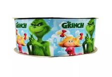 1 Inch Grinch Grosgrain Ribbon - 1 Yard - G1435