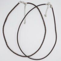 lia sophia jewelry leather necklace chain