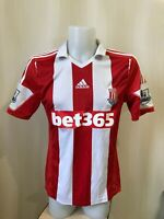 Stoke City 2013/2014 home Size M Adidas football shirt soccer jersey maillot