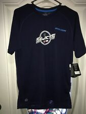 New Bauer USA Canada Training Fit Navy Short Sleeve Tee Tshirt Selects Small S