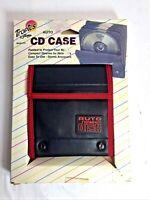 9 Disc Capacity Auto CD Storage Dvd Holder Black Pocket Case Organizer