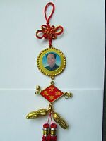 CHAIRMAN MAO GOOD LUCK CHARM, MADE IN CHINA, VINTAGE.