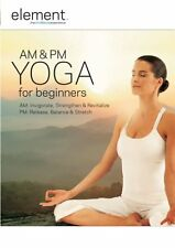 "Element AM and PM Yoga for Beginners DVD R4 New & Sealed ""sale"""
