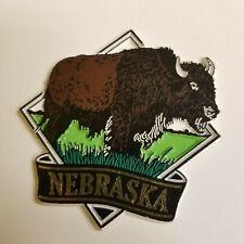 Nebraska State Collectible Magnet Buffalo Bison Vacation Travel Memento Souvenir