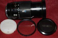 Konica Minolta 28-135mm f/4-4.5 AF Lens For Sony Alpha not for the nex  model