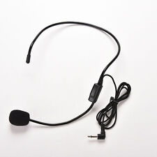 Wired Hands Free Headset Microphone Mic Megaphone Speaker System For TeacherRh