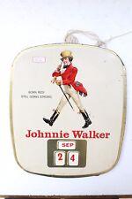 1820 Old Rare Johnnie Walker Calendar Collectible Nh3856