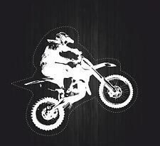 Autocollant sticker biker moto casque circuit motard macbook cross mototcross r2