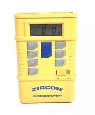 Zircon Dimensionator Tapeless Ultrasonic Measuring Tool w/ Instruction Manual