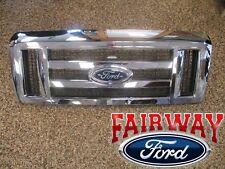 08 thru 17 Econoline E150 E250 E350 E450 OEM Genuine Ford Parts Chrome Grille