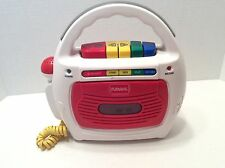 Playskool Cassette Tape Recorder Sing-A-Long Microphone Vintage Model PS-452