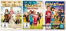 BIBI & (und) + TINA - 1+2+3 Der Film/Voll Verhext/Mädchen gegen Jungs -- 3 DVD